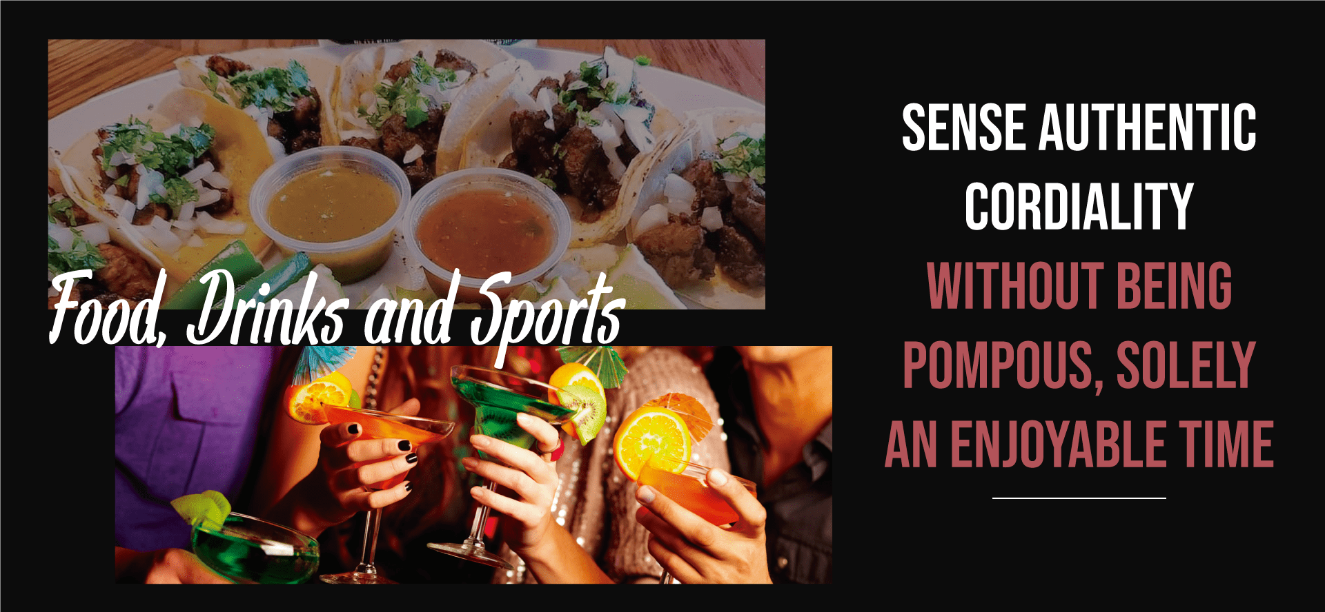 food drinks and sports